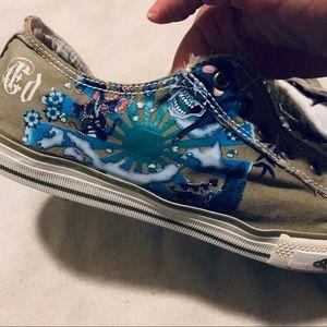 Ed Hardy Shoes - Ed Hardy Tennis Shoes